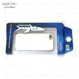 گارد سخت Apple iPhone 5 / 5S مارک Shark طرح فلزی نقره ای