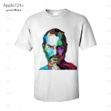 تی شرت آبرنگ استیو جابز